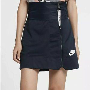 NEW Nike NSW Zip Skirt Navy
